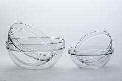 Servierschale, Glas,  ø 30, 26, 23, 20 cm