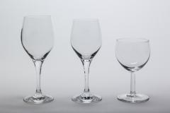 Weinglas Mondial Rot + Weiß / Ballon