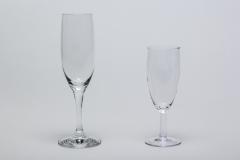 Sektkelch Mondial und Sektglas