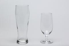 Weizenbierglas und Biertulpe