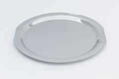 Servierplatte, rund, Chrom, 38 cm ø
